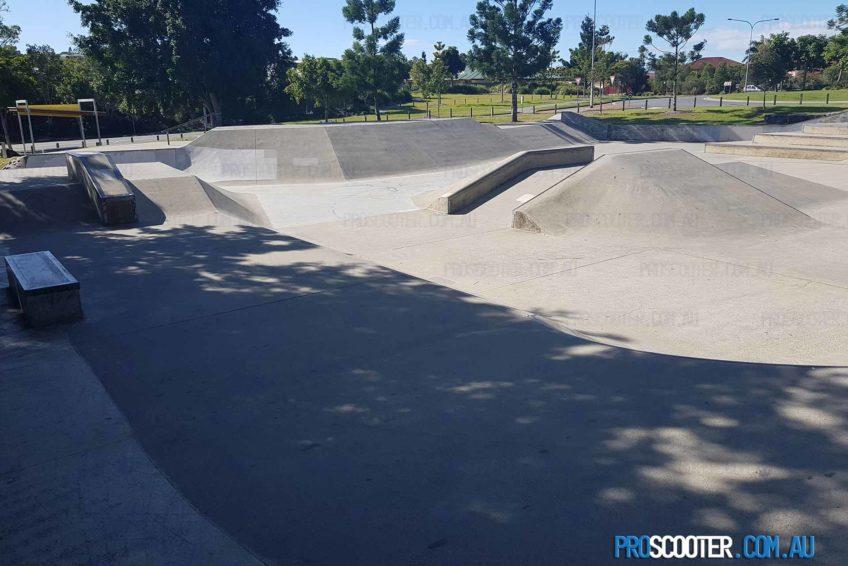 Pacific Pines Skate Park Pyramid