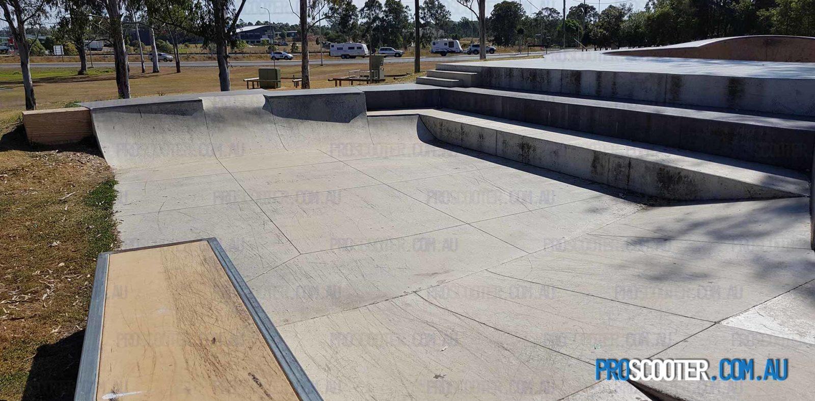 Jimboomba Skatepark New Section