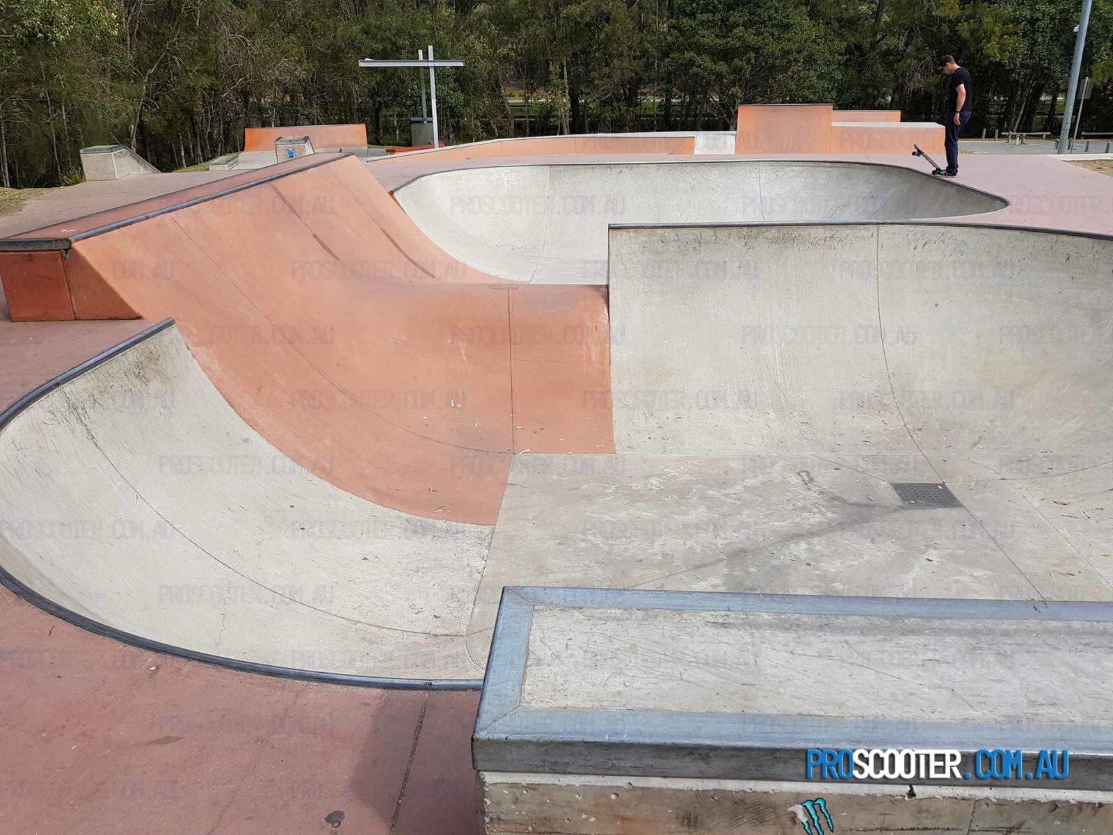 Underwood Skatepark Bowl Gap