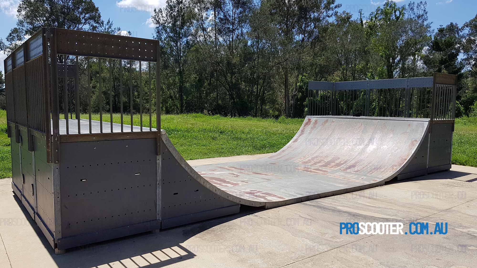 Goodna Skate Park Places To Ride Scooters In Ipswich