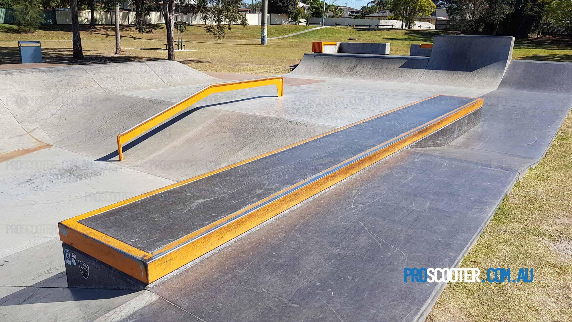 Loganholme Skatepark Speed banks and rails