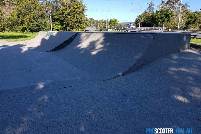 Quarter Pipe at Mudgeeraba Skate Park