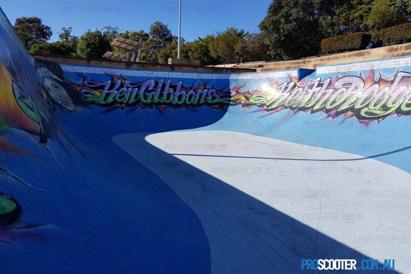 Pool Bowl at Pizzey Skatepark