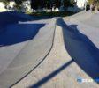 Runaway Bay Skatepark spine between bowls