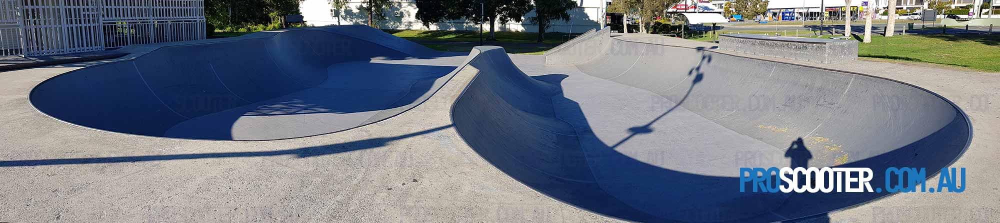 Twin bowls at Runaway Bay Skate Park