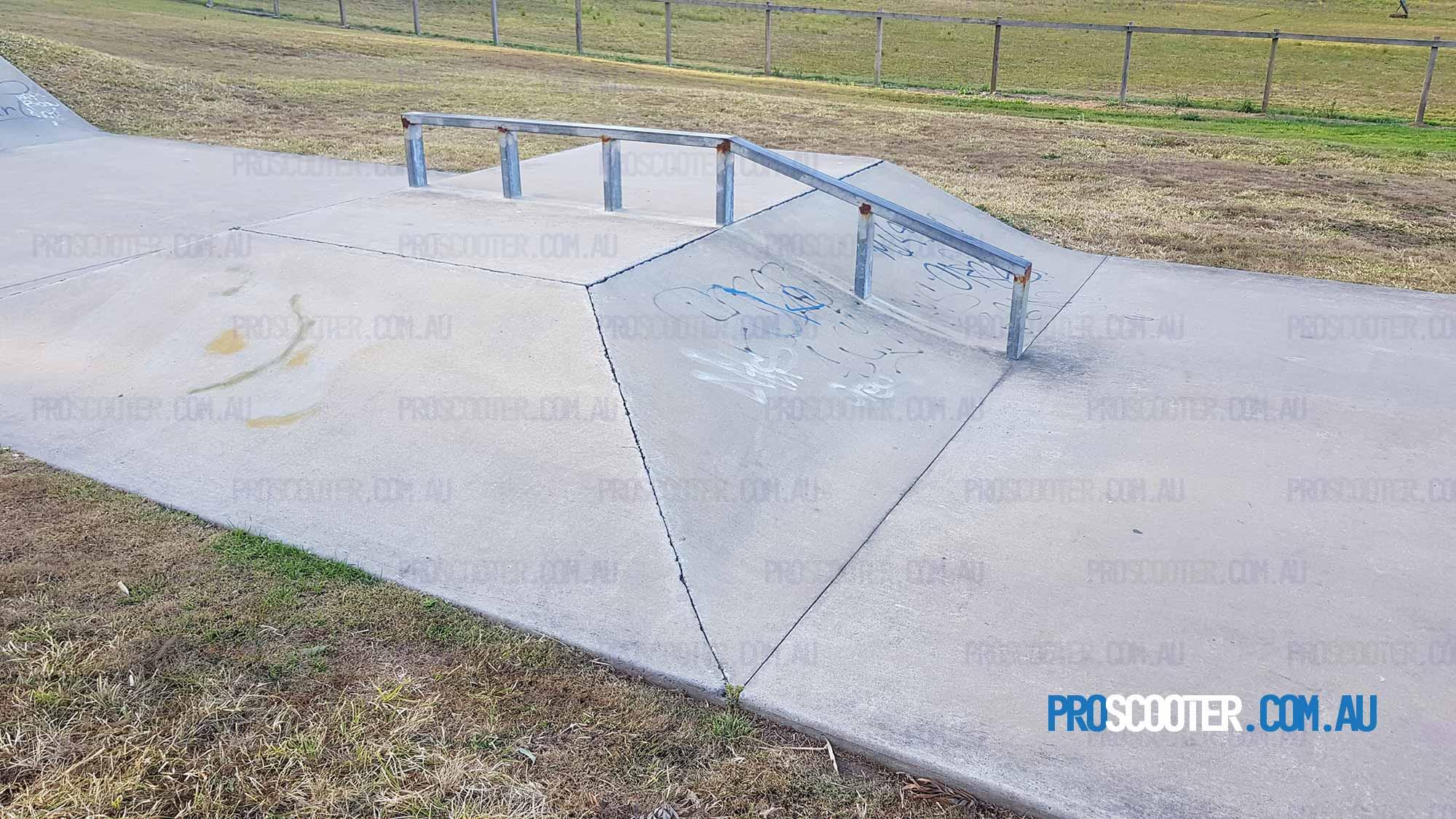 Tamborine Village Skatepark Funbox