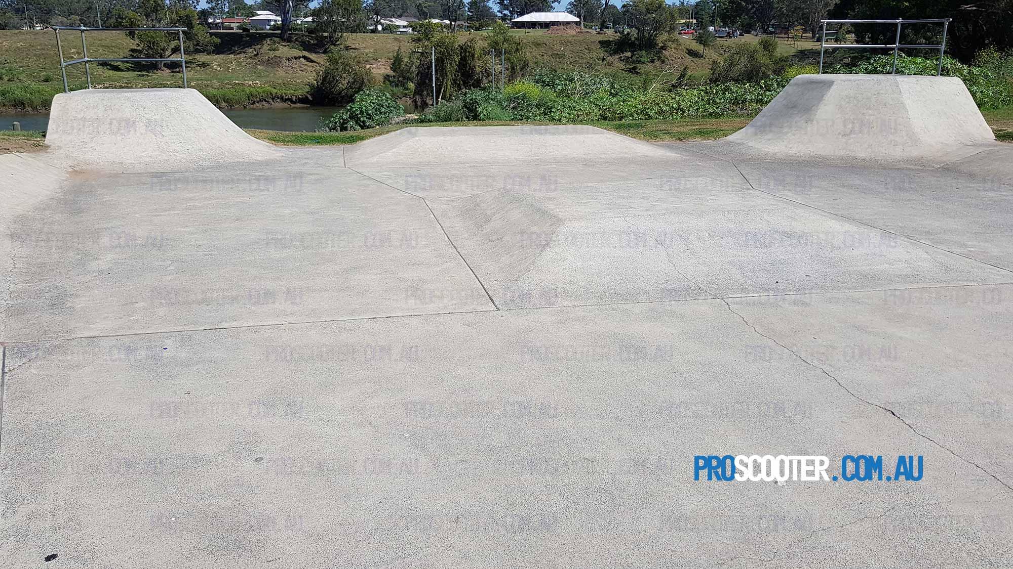 Lower section of Bethania Skatepark