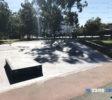 moorooka skatepark quarter and ledge