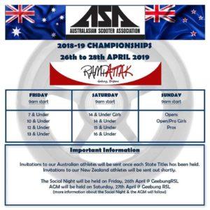2019 ASA National Scooter Championships